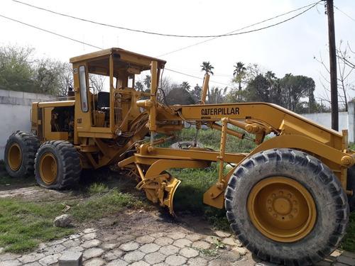 motoniveladora  caterpillar 140g 1986