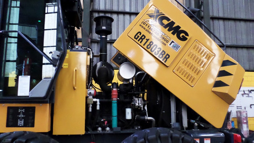 motoniveladora gr1803 br xcmg brasil frenos humedos contado
