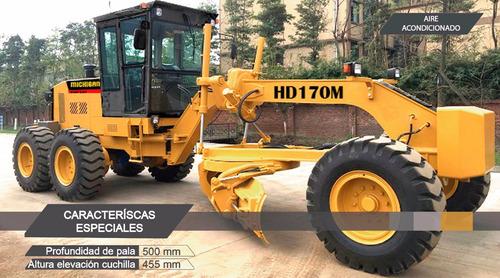 motoniveladora michigan nueva 170 hp 10.000kg