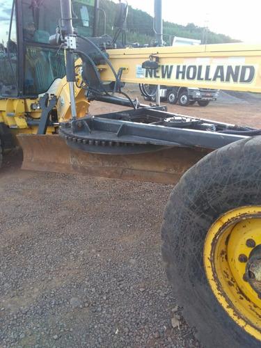 motoniveladora new holland 170 b ano 2011