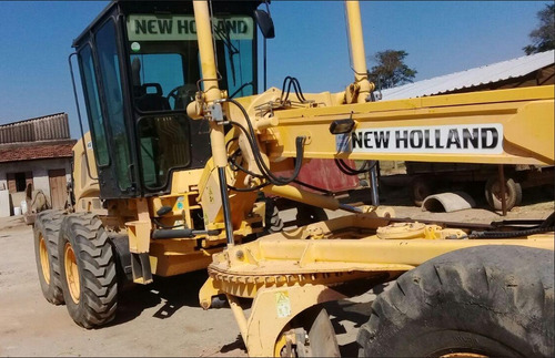 motoniveladora new holland rg170 2009