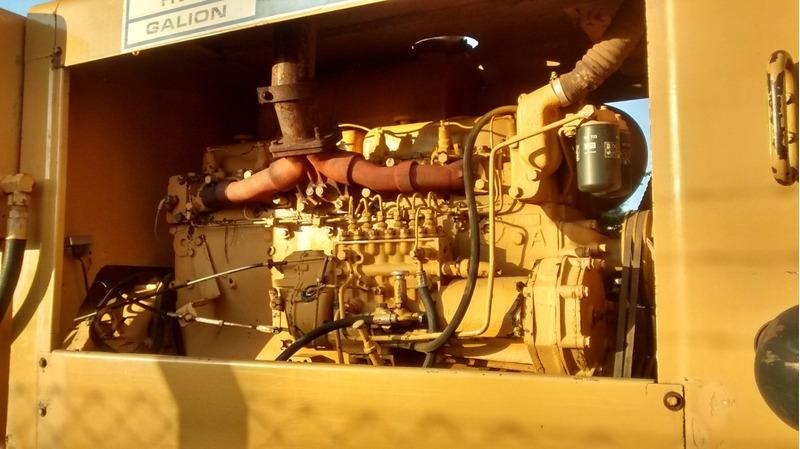 motoniveladora patrol huber warco dresser motor scania nova