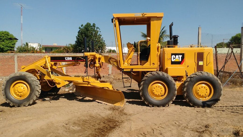 motoniveladoras caterpillar 120g