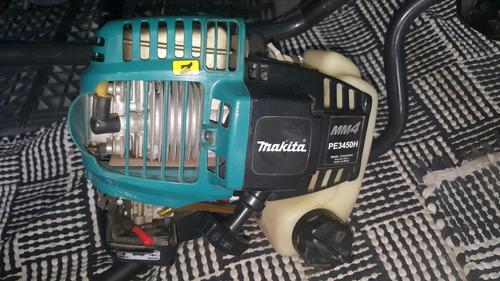 motoperforadora makita gasolina 33.5 cc 4 tiempos barreno