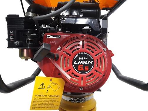 motopison hcr90 crosgrob motor lifan (6.5 hp) 168f-4+ camise