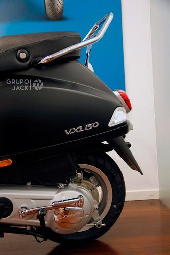 motoplex jack   vespa vxl 150 cc moto 0km madero m