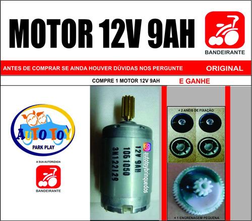 motor 12v/9ah brinquedos bandeirante