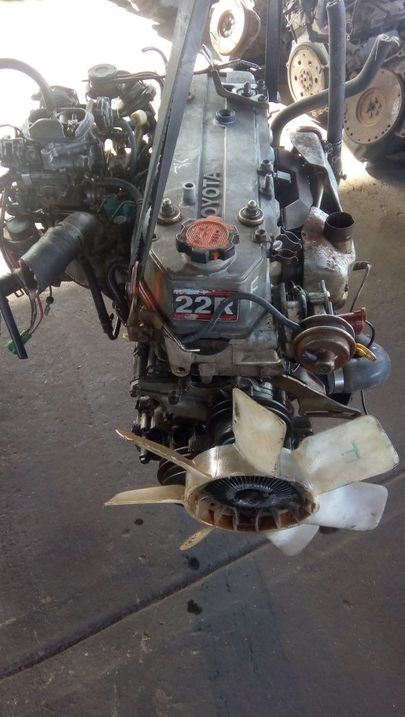 Motor 22r Toyota Carburador