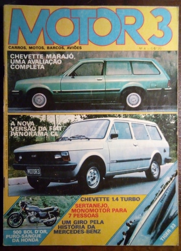 motor 3 - n° 4 - outubro 1980 - marajó, panorama, bol d'or