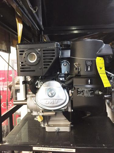 motor 7 hp. flecha cuñero reductor 6 a 1 kohler retractil