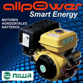 Motor A Explosion Niwa 13hp Horizontal 390cc Arranque Electr