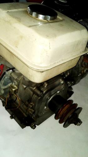 motor a gasolina 5.5 hp. honda con polea doble