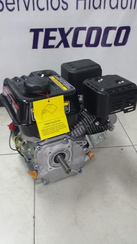 motor a gasolina de 5 h.p. con cuñero uso general