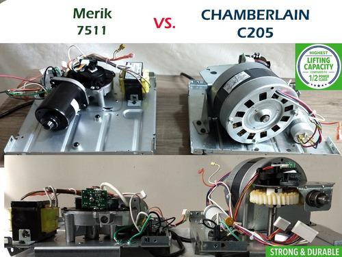 motor abre puertas  chamberlain merik  myq porton electrico