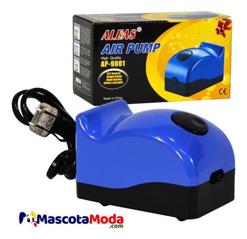 motor aireador aleas 150 lph peceras y acuarios promocion