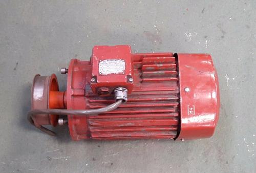motor asincrono trifasico 4 hp  220 v 1420 rpm