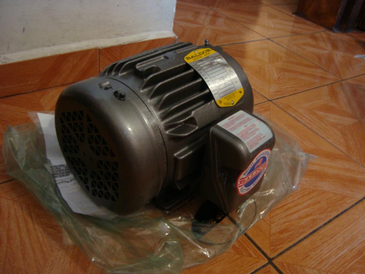 Motor baldor m3583t nuevo de 1 5 hp 220 440 volts for Baldor 1 5 hp motor