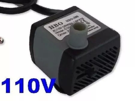 motor bomba para fontes de água aquário 220l/h hbo 300 2,5 w