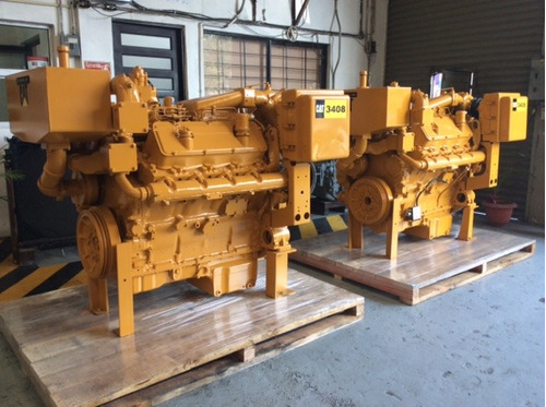 motor | caterpillar 3408 pct areglo 4n2243 totalmente marino