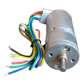 Motor Cd Motorreductor 1:34 Encoder 5.2 Kg.cm 110 Rpm 6v 12v