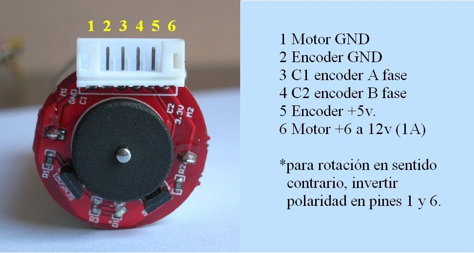 [SCHEMATICS_4US]  Wiring and computing electric DC enginees with quadrature encoder sensor  hall | Dc Motor Encoder Wiring Diagram |  | Arduino Forum