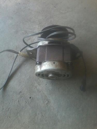 motor comasa 1/4 hp, con polea para maquina de moler, usado.