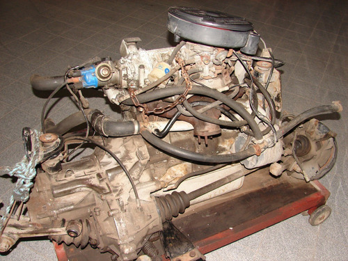 motor completo fiat fiorino 1995 caja tren del. dado de baja