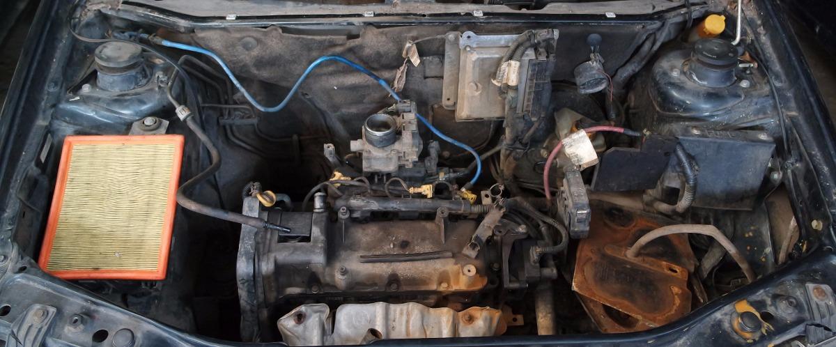 Motor Completo Palio Siena Uno Fire 1 0 8v Gasol 2001  2006
