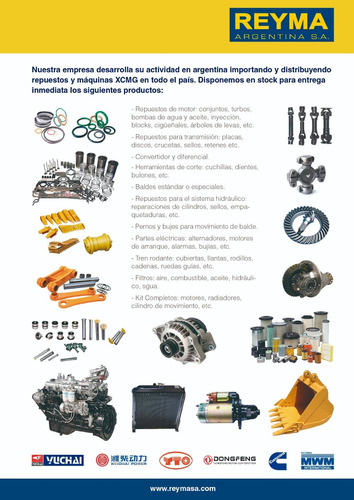 motor completo xcmg yto yt4a2-24