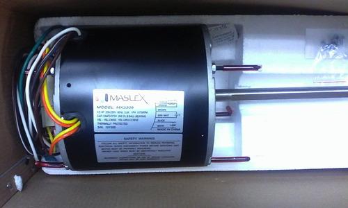 motor condensador ventilador 1/2 hp cw ccw 208-230v 1075rpm