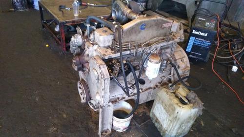 motor cummins 6bt reparado