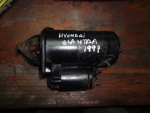 motor de arranque de hyundai elantra 97