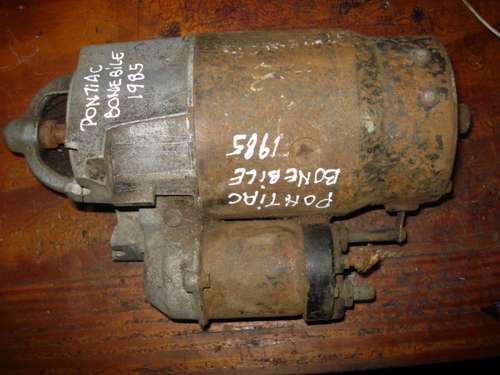 motor de arranque de pontias bonebile 1985