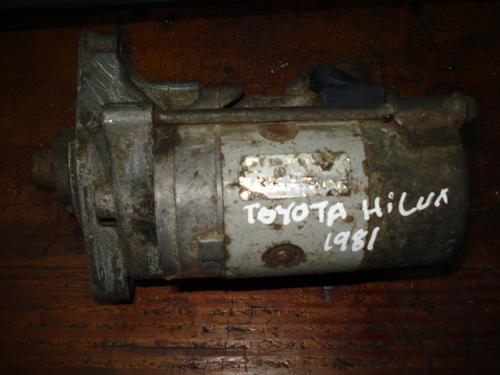 motor de arranque de toyota hilux del 81