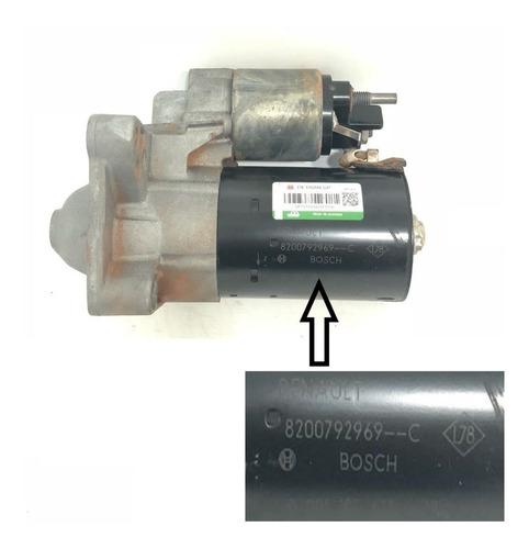 motor de arranque duster 4x4 2.0 16v flex mecanico 2012