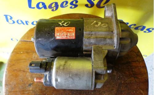 motor de arranque hyundai i30 2.0 16v original