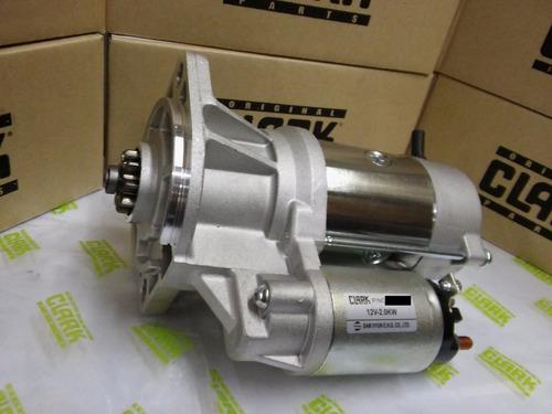 motor de arranque original autoelevador clark