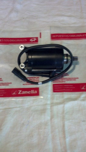 motor de arranque zan. ztt 200 enduro- motard orig. zanella