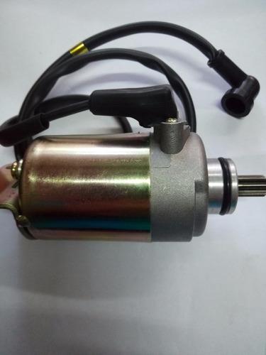 motor de arranque zanella gforce 200 - rg motos