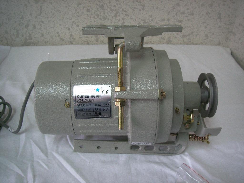 Motor De Clutch Para Maquina De Coser Industrial 110v 400w