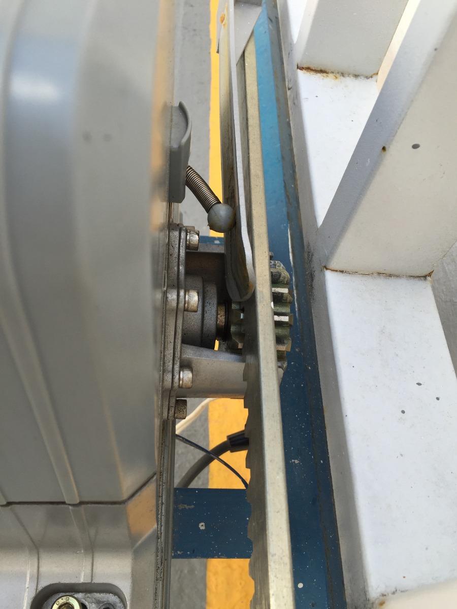 Motor De Cremallera Para Port N Corredizo De Hasta 1800 Kg