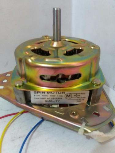 motor de exprimido /asiat doble tinas 60w eje delgado