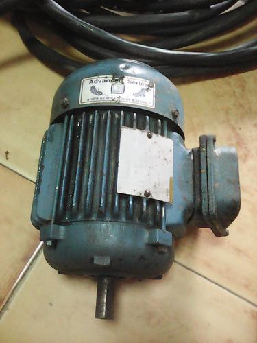 motor de induccion trifasico eberle 1.5hp 1750 rpm