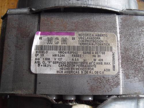 motor de lavadora mabe modelo mcm 189d4153p002 oferta!