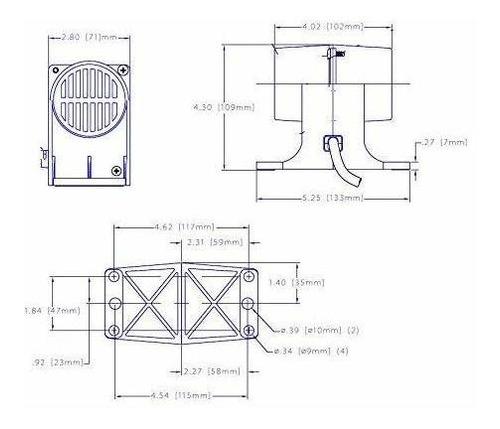 motor de masaje vibratorio de 120 v para cama, mesa o silla
