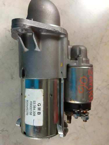 motor de partida chevrolet zafira 93384398