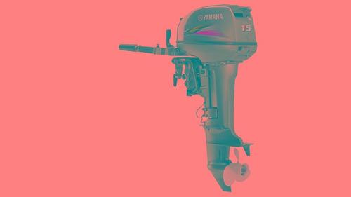 motor de popa 15 gmhs - yamaha - taxas imperdíveis