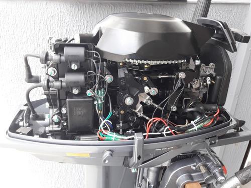 motor de popa 30hp hidea - partida elétrica