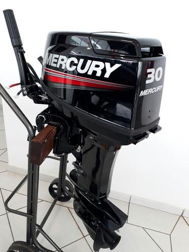 motor de popa 30hp mercury (inscrição estadual ou rural)