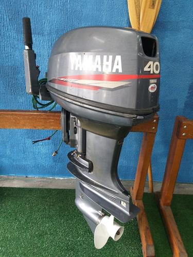 motor de popa 40 hp yamaha ( 12 x cartao )